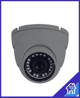 W Box 4 MP Eyeball met vaste 2,8 mm-lens grijs Echte WDR met IR 30 m-bereik